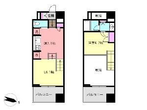 Lo・house Style 船橋 賃貸マンション 間取図