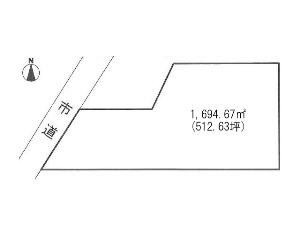 土地 船橋市二和西6丁目 区画図