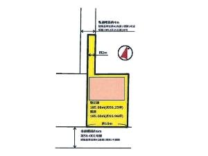 土地 船橋市西習志野1丁目 区画図