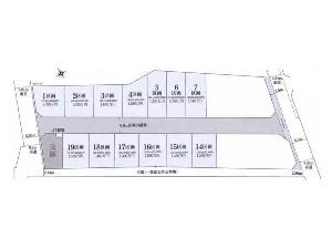 土地 船橋市丸山3丁目 区画図