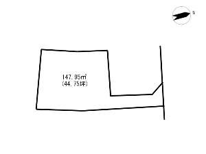 土地 船橋市三咲7丁目 区画図