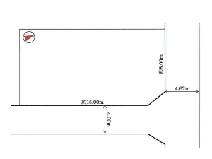 土地 船橋市馬込町 区画図