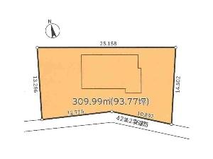 土地 船橋市飯山満町3丁目 区画図