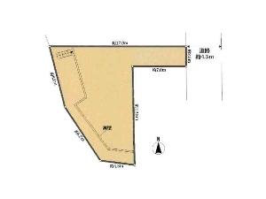 土地 船橋市三山1丁目 区画図