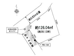 土地 船橋市三山2丁目 区画図