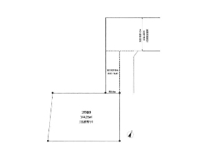 土地 船橋市芝山5丁目 区画図