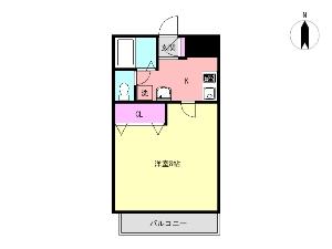 fh5102 船橋 賃貸マンション 間取図